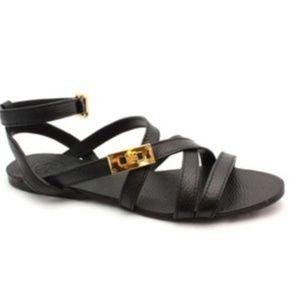 Tory Burch Dalcin Leather Gladiator Sandals